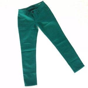 DL1961 Jeans Emma Legging Green 4 Way Stretch 1A